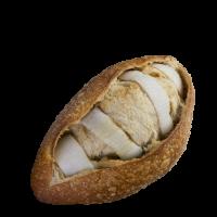 Pan rústico con ajo, cebolla y mantequilla, panadería Esperanza