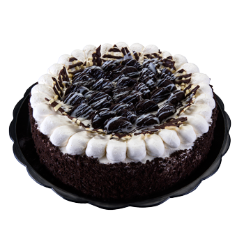 Pastel de chocolate y vainilla bañado en tres leches en Pastelería la Esperanza